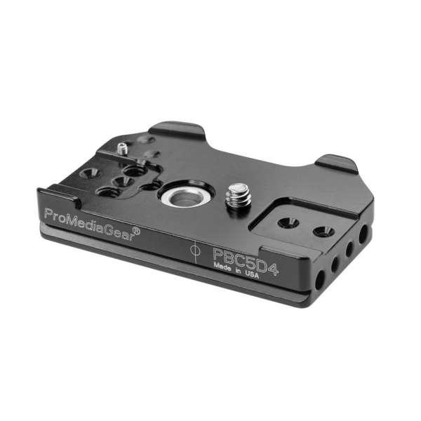 ProMediaGear PBC5D4 Schnellwechselplatte für Canon EOS 5D Mark IV