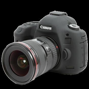 EasyCover Silikonschutzhülle für Canon 5D Mark III/ 5DSR / 5DS - Schwarz