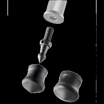 Gitzo GSFSM - Kurzspike + Gummifüße (30 und 38 mm)
