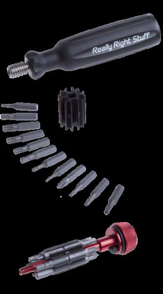 Really Right Stuff MTX: Multi-Tool mit 22 Bits & 1 Innensechskant-Schlüssel