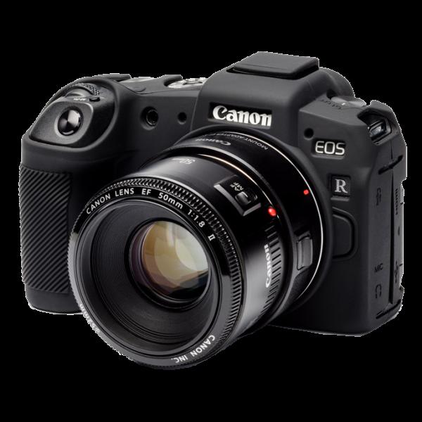 EasyCover Silikonschutzhülle für Canon EOS RP- Schwarz