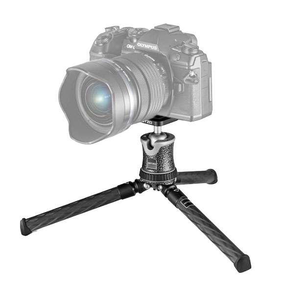 Gitzo GKTBC1 Ministativ Traveler für CSC / DSLR Kameras (Noir Decor)