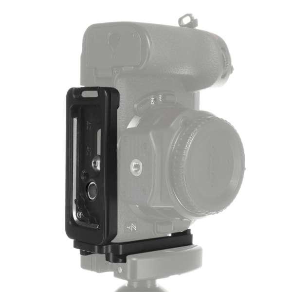 Kirk BL-Z Kamera-L-Winkel für Nikon Z7 & Z6 mit QD-Aufnahme