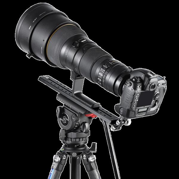 Leofoto VR-380 Teleschiene mit Sachtler/ Manfrotto Schwalbenschwanzprofil