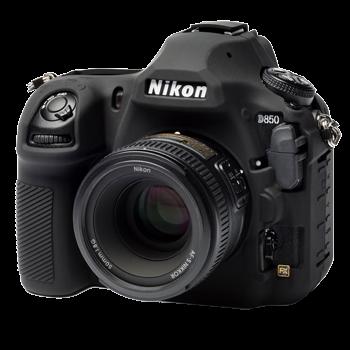 EasyCover Silikonschutzhülle für Nikon D850 - Schwarz