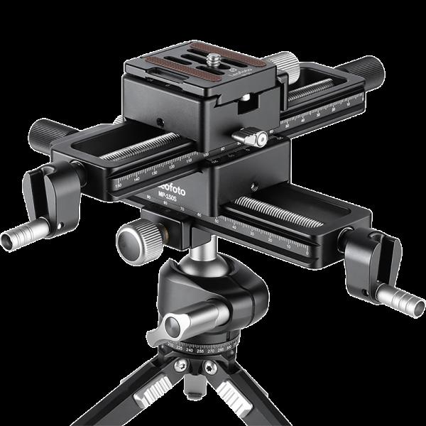 Leofoto MP-150S Ultimate Package (Kreuz-Einstellschlitten)