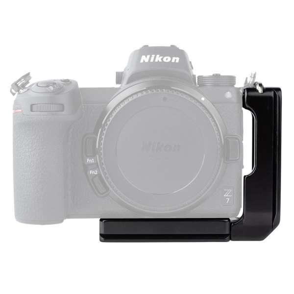 ProMediaGear PLNZ67 L-Winkel für die Nikon Z6 / Z7 & FTZ-Adapter