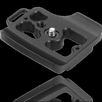 Kirk Schnellwechsel-Kameraplatte PZ-123 für Nikon D300, D300s, D700 mit MB-D10