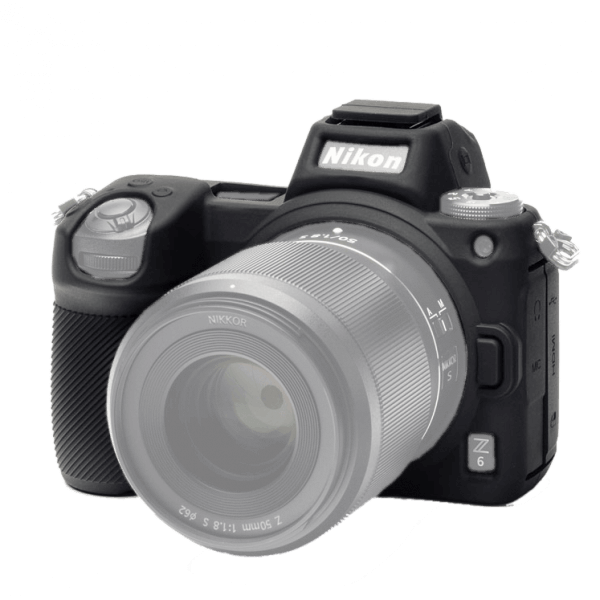 EasyCover Silikonschutzhülle für Nikon Z6/Z7 - Schwarz