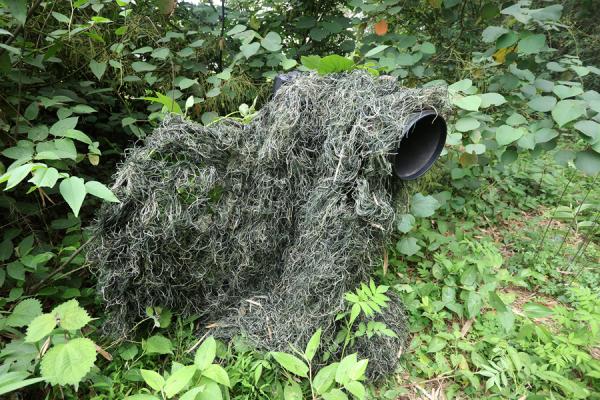 Tragopan Ghillie - Tarnung 2.5 x 1.5 m