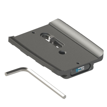 KirkPZ-169 Schnellwechsel-Kameraplatte für Canon EOS 5D Mark IV mit BG-E20