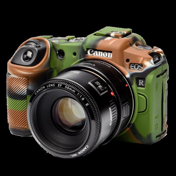 EasyCover Silikonschutzhülle für Canon EOS RP- Camouflage