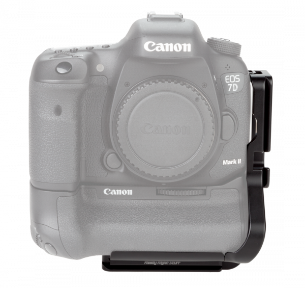 Really Right Stuff BGE16-L modularer L-Winkel für Canon 7D Mark II mit Batteriegriff BG-E16