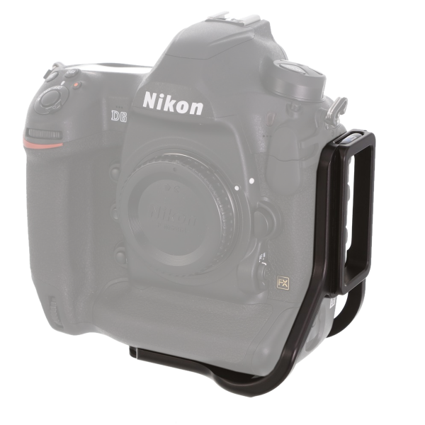 Kirk BL-D4 Kamera-L-Winkel für Nikon D4/D4s/D5/D6 mit QD-Aufnahme