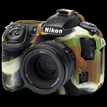 EasyCover Silikonschutzhülle für Nikon D500 - Camouflage