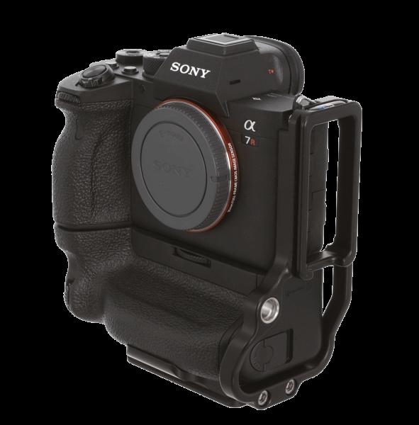 Kirk BL-A7R4G Kamera-L-Winkel für Sony Alpha 7R IV & A9 II mit VG-C4EM