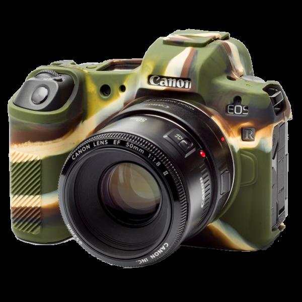 EasyCover Silikonschutzhülle für Canon EOS R- Camouflage