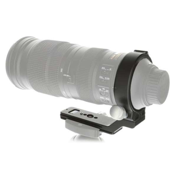 Kirk NC-200-500 V2 Objektiv Schelle mit QD-Aufnahme