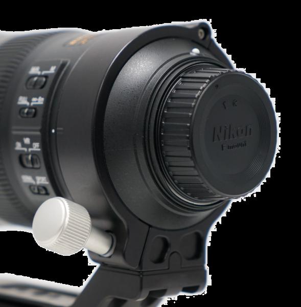Kirk CK-1 silber: Ersatzknopf für Objektivschelle NC-200-500, NC-300, NC-80-200, NC-80-400