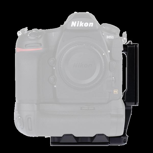 ProMediaGear PLNMBD18 L-Winkel für die Nikon D850 mit MB-D18
