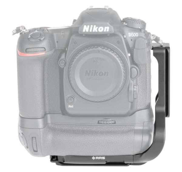Really Right Stuff BMBD17-L: L-Winkel für Nikon D500 mit Batteriegriff MB-D17