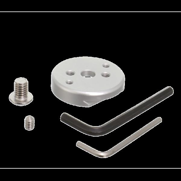 Kirk TQR-MPS runde Schnellwechselplatte (klein) bis 57 mm