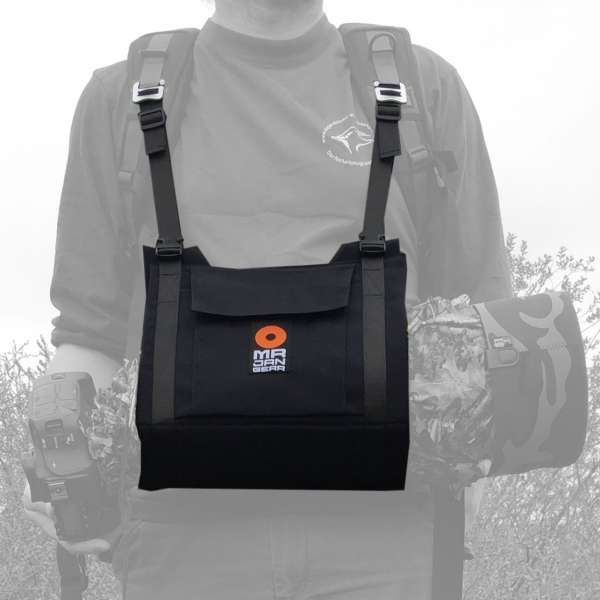 MR JAN GEAR Lens Carrier System, Tragesystem für lange Teleobjektive