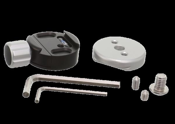 Kirk TQR-3S Stativschnellwechselklemme inkl. kleiner Schnellwechselplatte