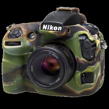 EasyCover Silikonschutzhülle für Nikon D810 - Camouflage
