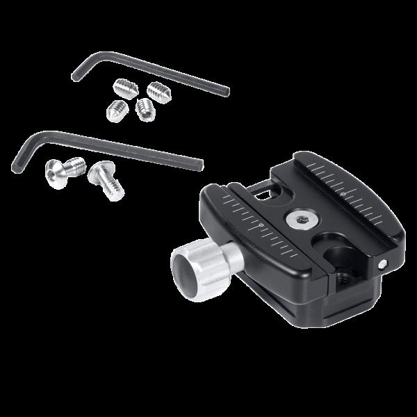 Kirk QR-AB1QR Universal-Adapter-Aufsatz mit 38mm-Schnellwechselklemme