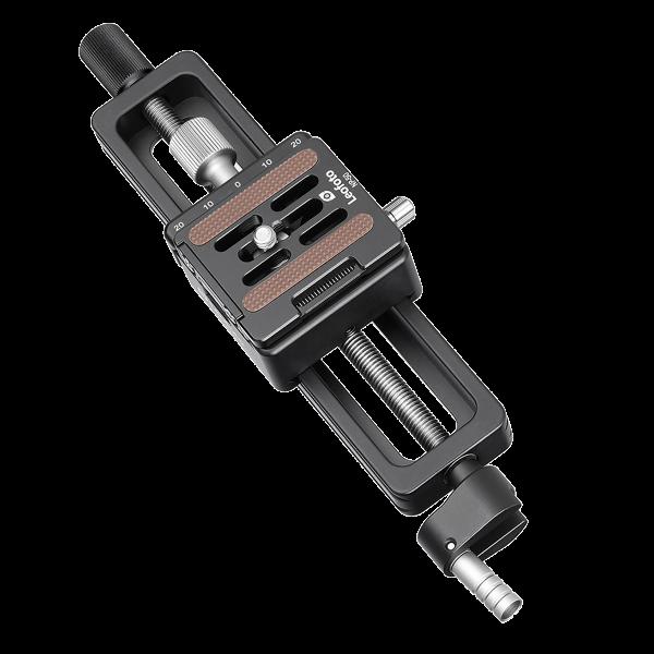 Leofoto MP-150S Makro-Einstellschlitten mit NP-50 Schnellwechselplatte