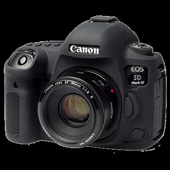 EasyCover Silikonschutzhülle für Canon 5D Mark IV - Schwarz
