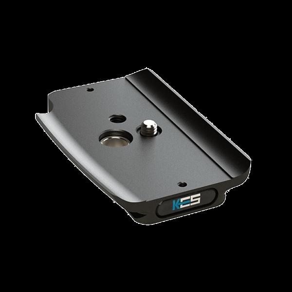 Kirk PZ-185 Schnellwechsel-Kameraplatte für Canon EOS R5 & R6 mit BG-R10