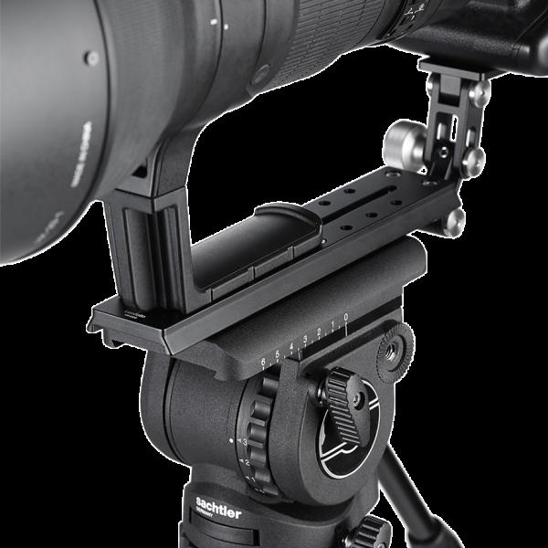 Leofoto VR-220 Teleschiene mit Sachtler/ Manfrotto Schwalbenschwanzprofil