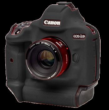 EasyCover Silikonschutzhülle für Canon 1DX Mark II - Schwarz