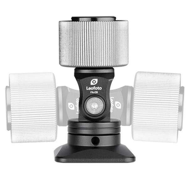 Leofoto FA-09 Cold Shoe Adapter mit Dreh-und Neigefunktion