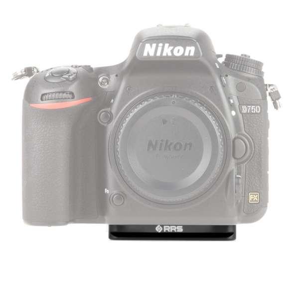 Really Right Stuff BD750 Schnellwechselplatte für Nikon D750