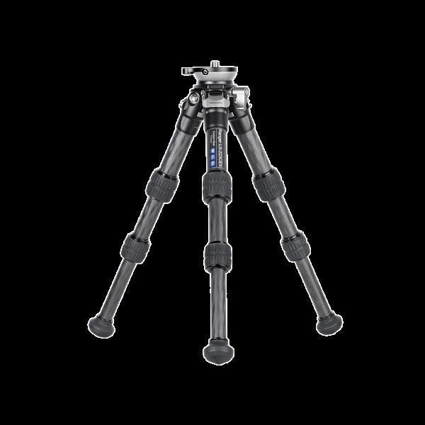 Leofoto LS-223CEX Ranger Mini-Stativ mit integrierter Nivellierung