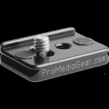 ProMediaGear PX1R Universal-Schnellwechselplatte 25.4 mm mit Verdrehschutzanschlag