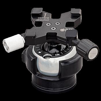 FLEXSHOOTER Mini 38 mm Schwalbenschwanz, der kleine Reise-Kugelneiger, 3.5 kg Tragkraft bei leichten