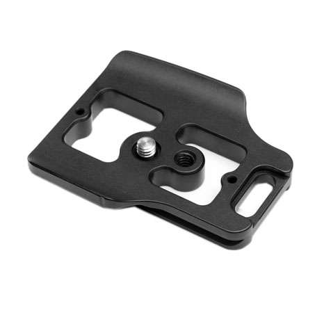 Kirk PZ-160 Schnellwechsel-Kameraplatte für Nikon D750 mit Batteriegriff MB-D16