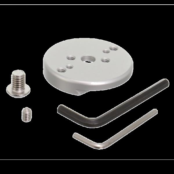 Kirk TQR-MPL runde Schnellwechselplatte (groß) ab 57 mm