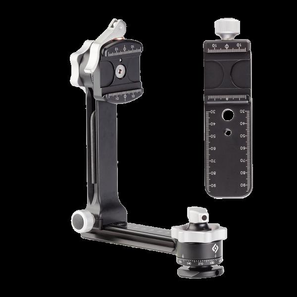 Really Right Stuff: PG-01 LR Kompakter Panoramakopf, Nivellierung & Hebelklemme & Nodalschiene