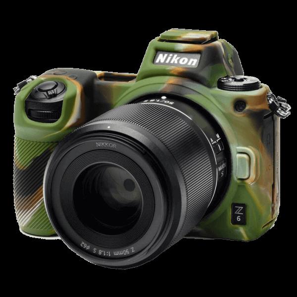 EasyCover Silikonschutzhülle für Nikon Z6/Z7 - Camouflage