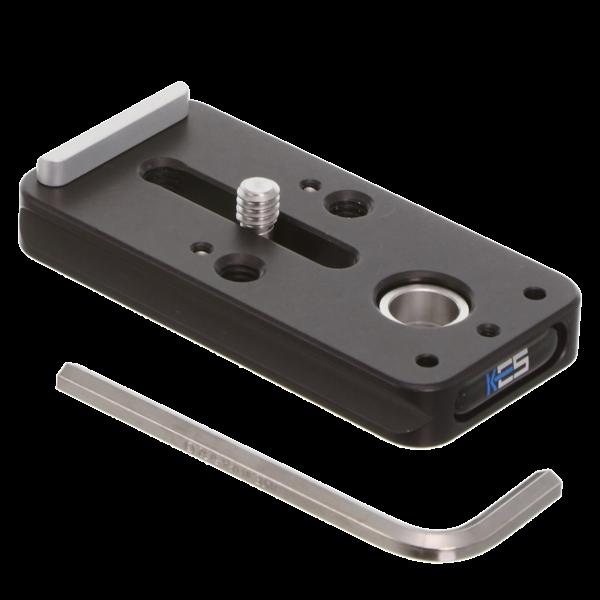 Kirk KLP-310 Schnellwechselplatte mit QD-Aufnahme