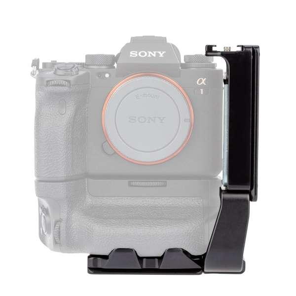 ProMediaGear PLSX4T Modularer L-Winkel für Sony Alpha a1 mit VG-C4EM