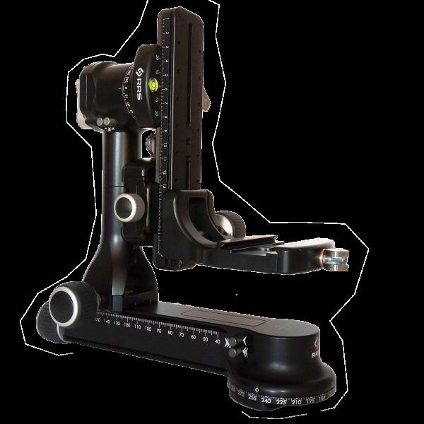 Really Right Stuff FG-02 ULT-Set: fluidgedämpfter Teleneiger + Panoramaausstattung