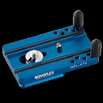 Novoflex QPL AT 2Klemmplatte mit Verdrehschutz 70mm