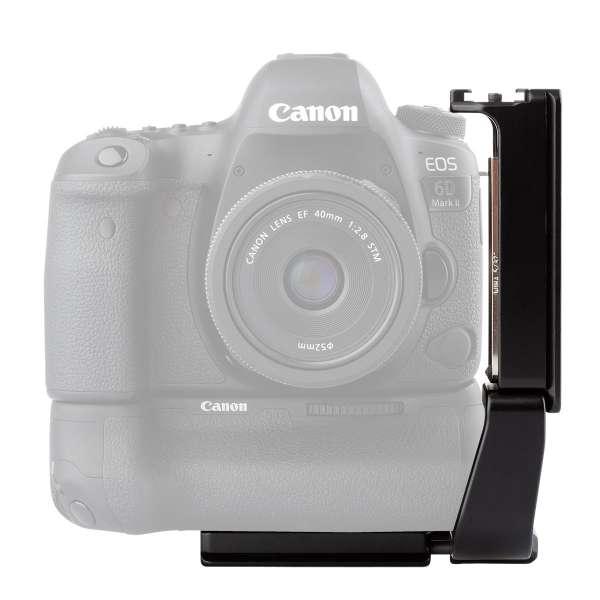 ProMediaGear PLX4T L-Winkel Universal für Kameras mit Batteriegriff und Schwenkdisplay