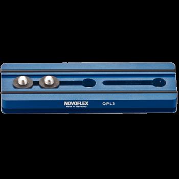 Novoflex QPL 3 Klemmplatte mit 120 mm Länge